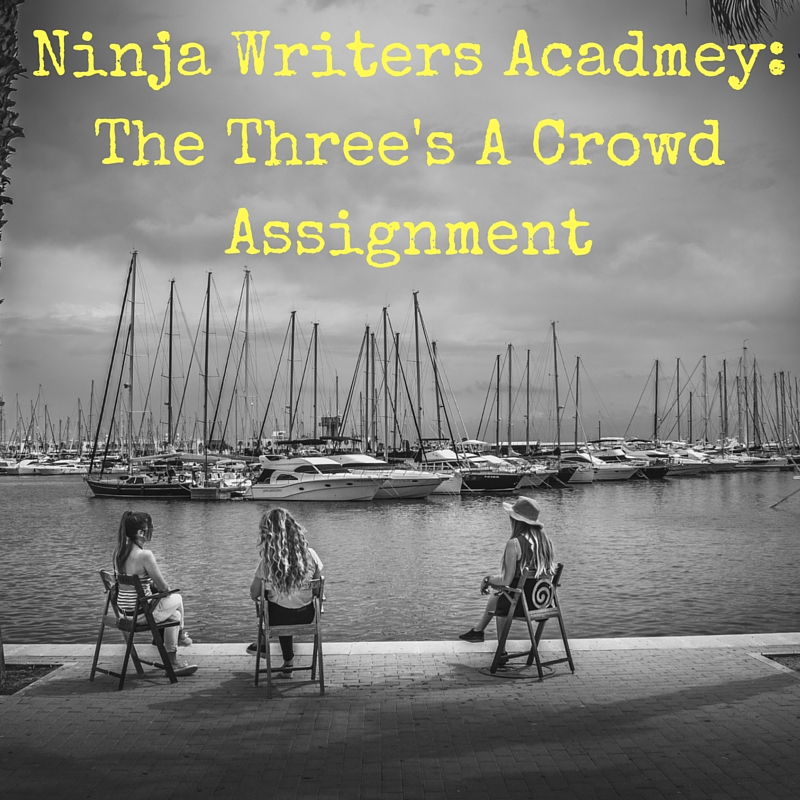Ninja Writers Acadmey-The Three's A Crowd Assignment